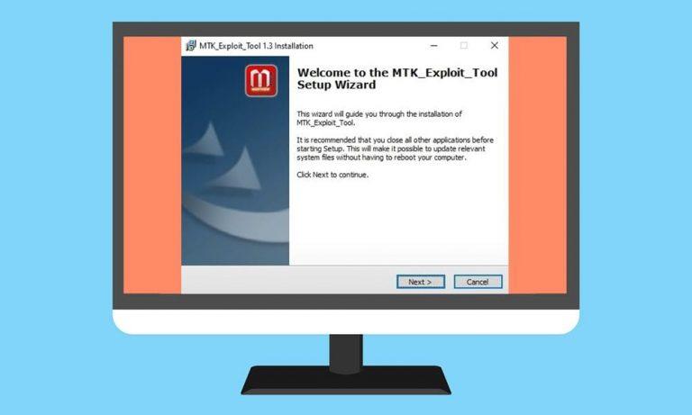 Загрузите и установите последнюю версию MTK Exploit Tool для ПК с Windows