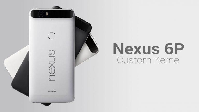 Как установить кастомное ядро на Nexus 6P с помощью TWRP Recovery