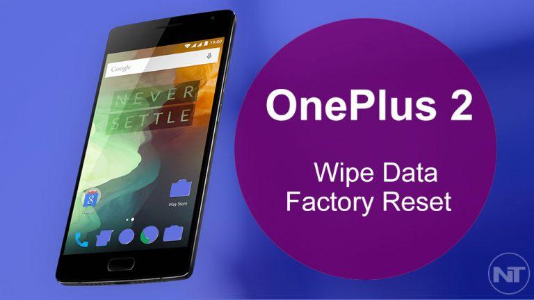 Как стереть данные и восстановить заводские настройки OnePlus 2
