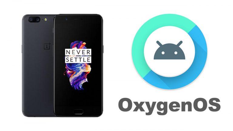 Установите обновление OxygenOS 8.0 Oreo Beta 2 для OnePlus 5 [OTA Download]
