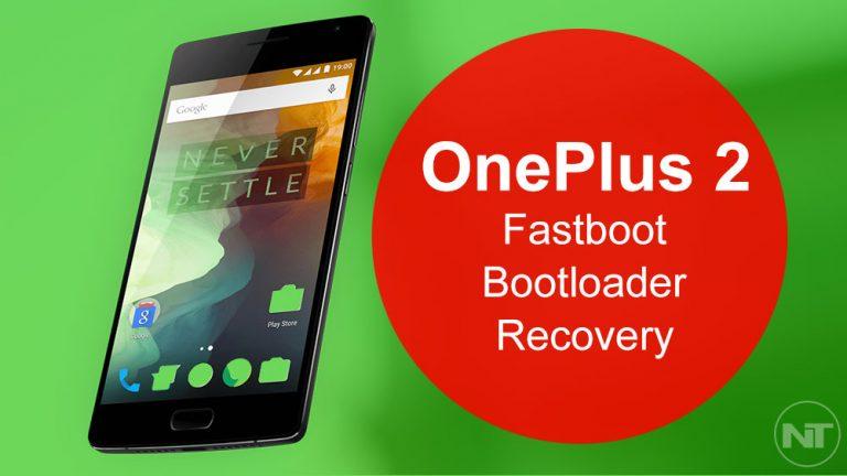 Как загрузить OnePlus 2 в загрузчик, быструю загрузку и режим восстановления