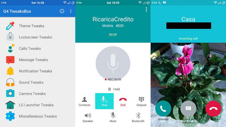 Как записывать телефонные звонки на LG G4 и включить запись разговоров