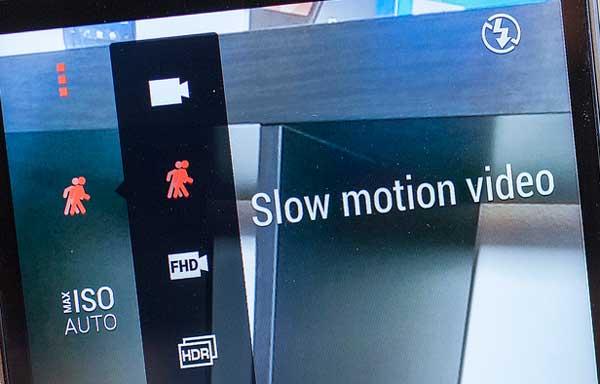 Как записывать замедленное видео на HTC One M8