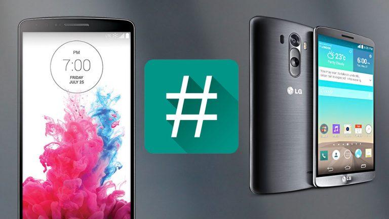 Как получить root права на LG G3 (D855) на Android 6.0 Marshmallow