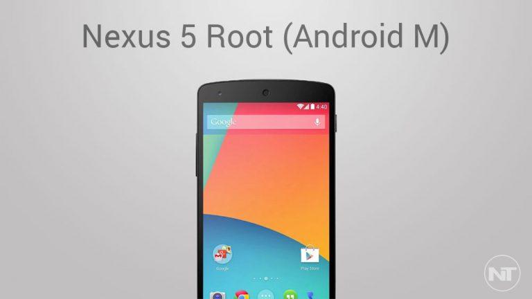 Как получить root права на Nexus 5 на Android M Developer Preview (SuperSU и ядро Despair)