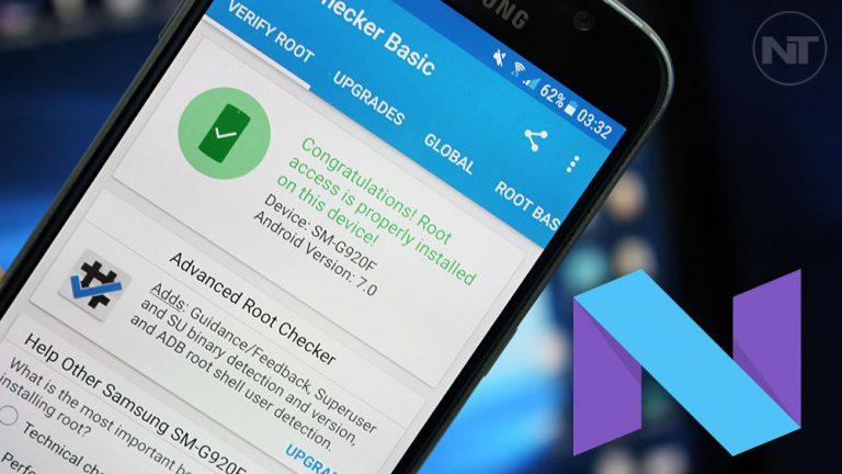 Как рутировать прошивку 7.0 Nougat на Samsung Galaxy S6 / S6 Edge с помощью Magisk [SM-G920F and SM-G925F]