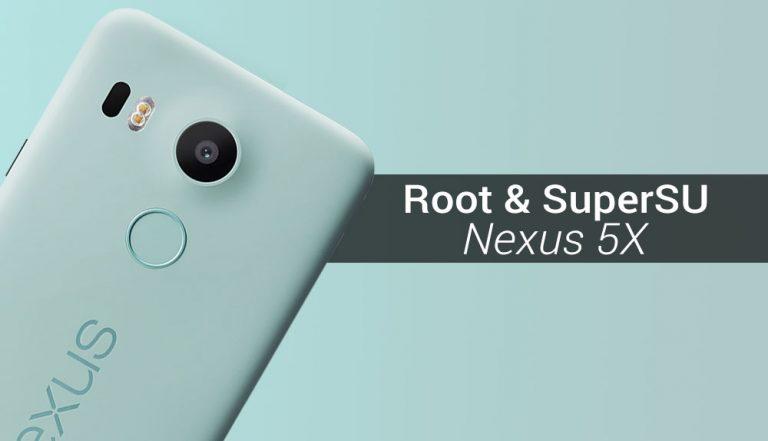 Как рутировать Nexus 5X и установить SuperSU