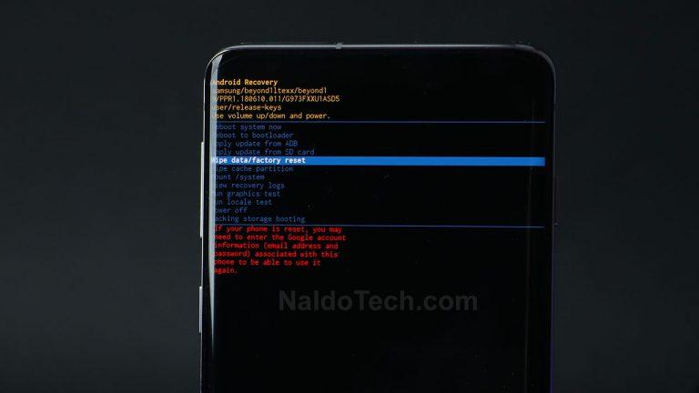 One UI 3.0: как загрузиться в режим восстановления и режим загрузки [NEW METHOD]