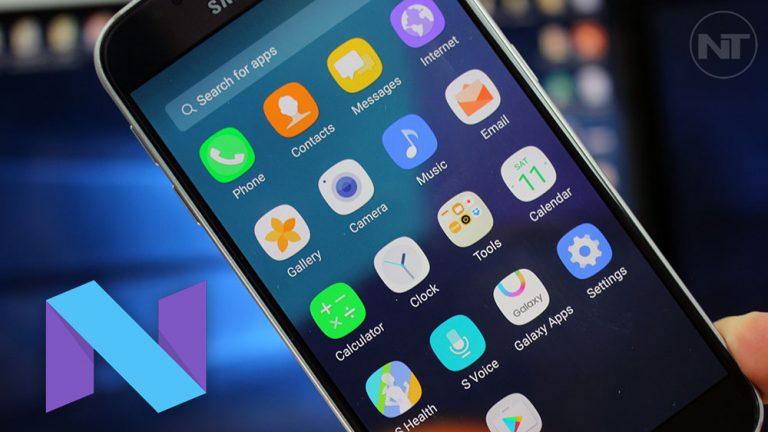 Установите TWRP на 7.0 Nougat Samsung Galaxy S6 и S6 Edge