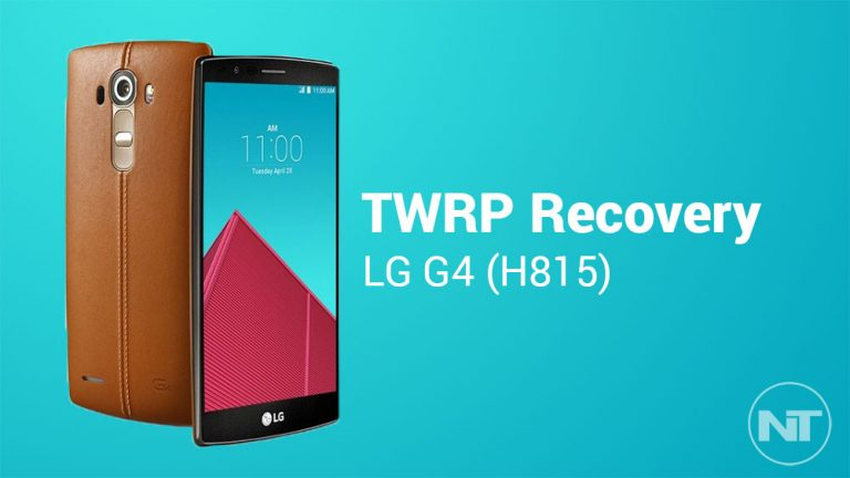 Установите TWRP Recovery на LG G4 (международный вариант)