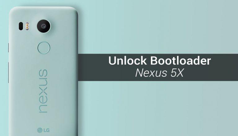 Как разблокировать загрузчик на Nexus 5X
