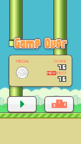 Какой у вас высокий балл Flappy Bird?  Поделитесь здесь!  Сможете ли вы победить?