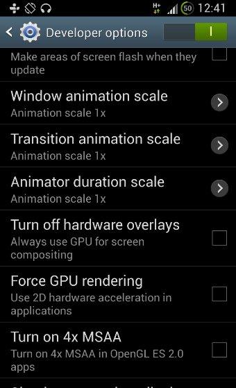 Как заставить Samsung Galaxy S4 чувствовать себя быстрее