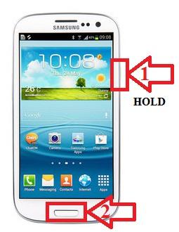 Как сделать снимок экрана на Samsung Galaxy S3