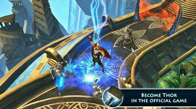 Скачать Thor: The Dark World для Android и iOS